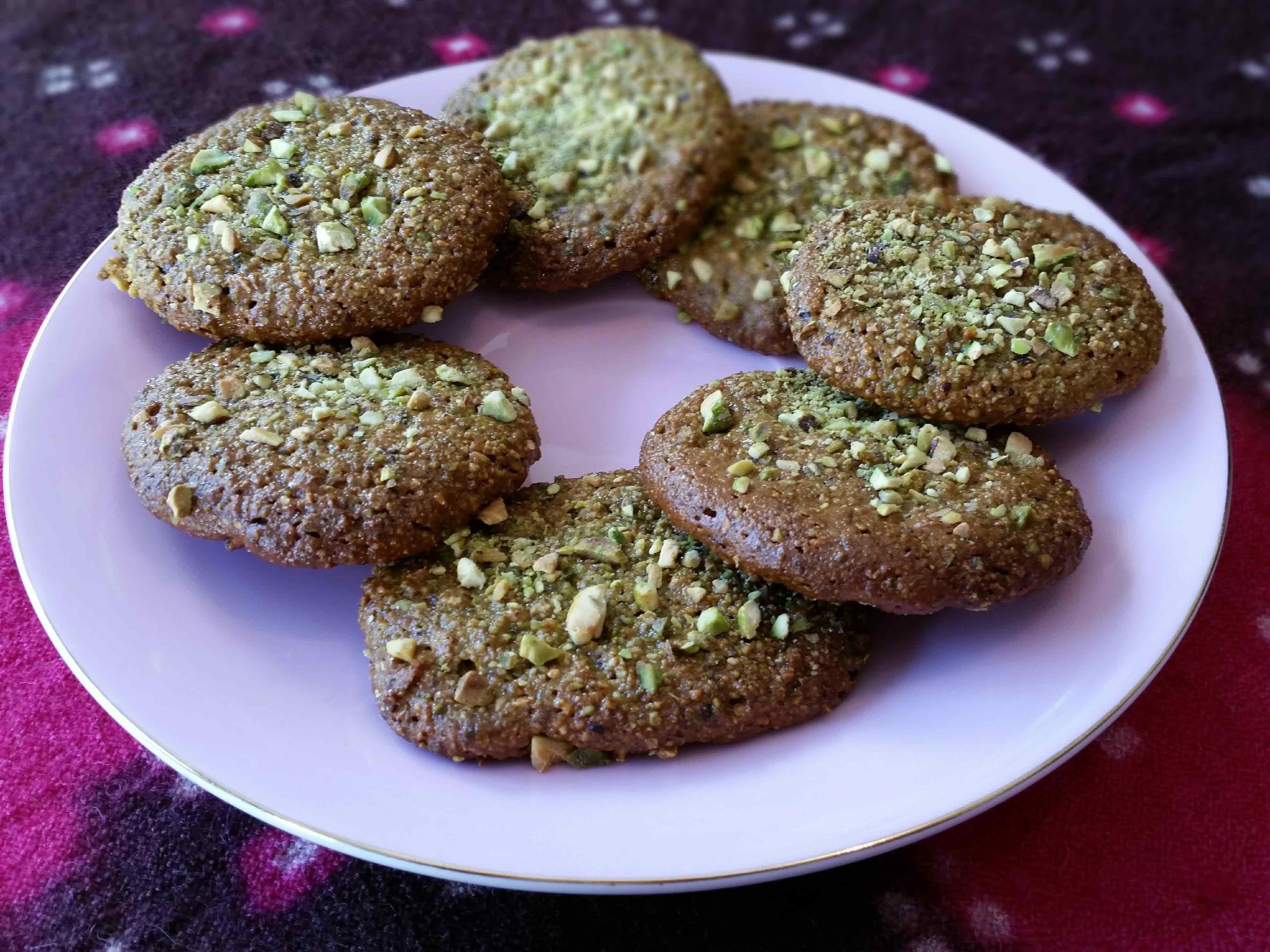 2 Ingredient Pistachio Biscuits