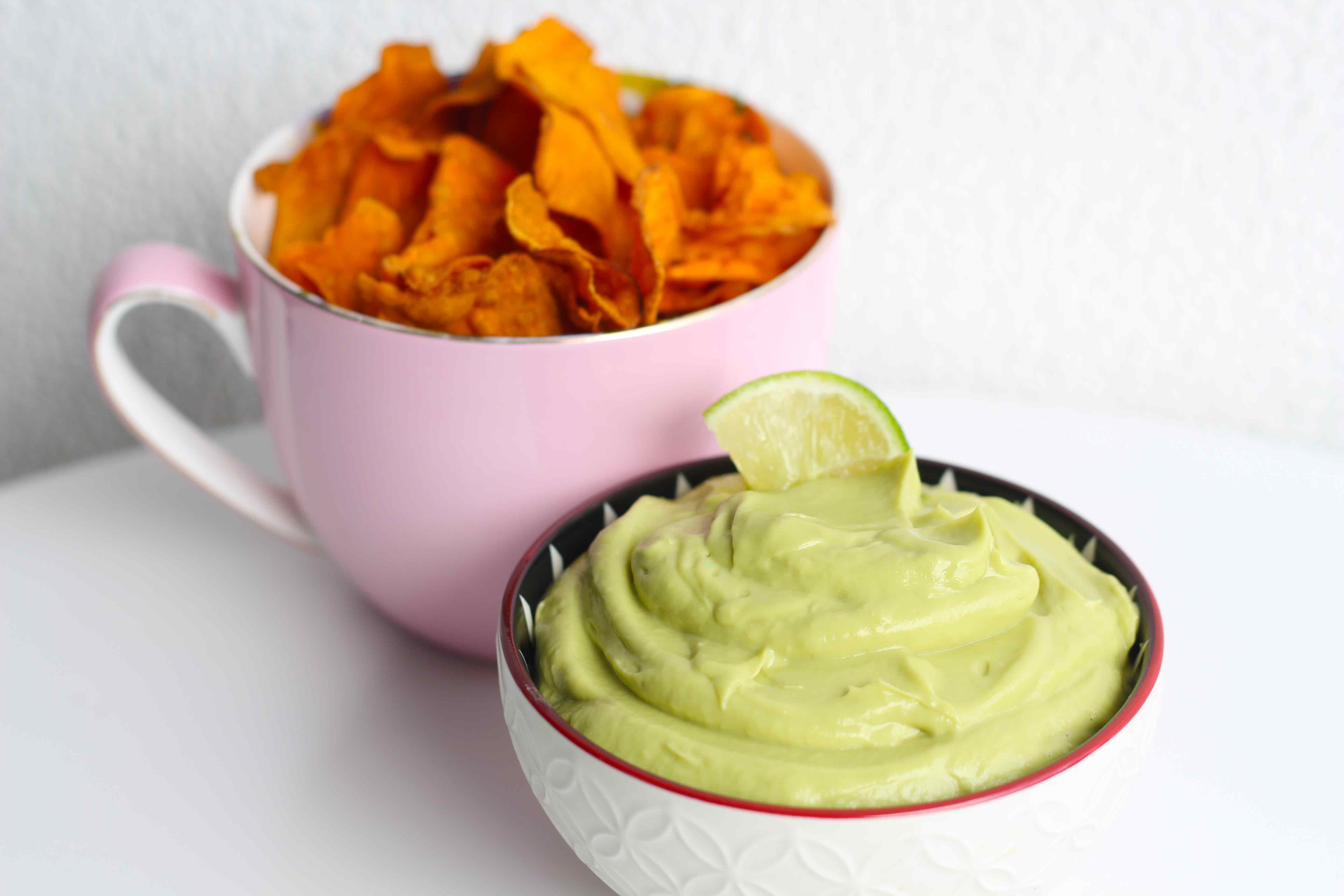 Avocado and Lime Mousse