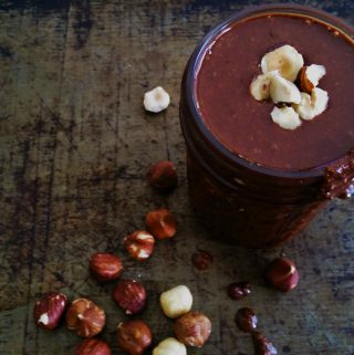 Crunchy Chocolate Hazelnut Spread