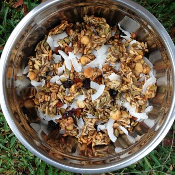 Honey Chai Granola