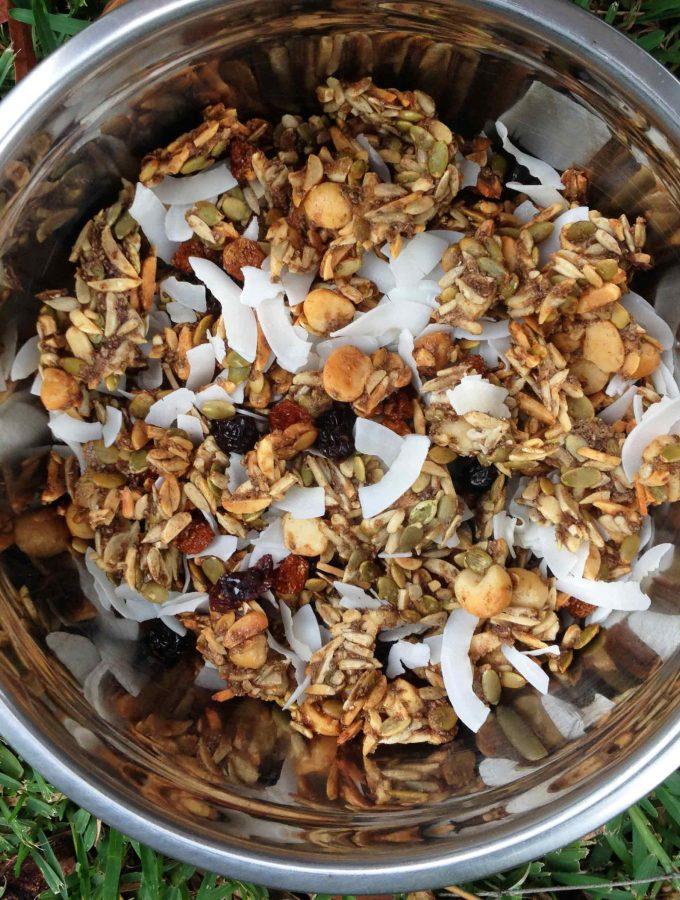 Honey Chai Granola