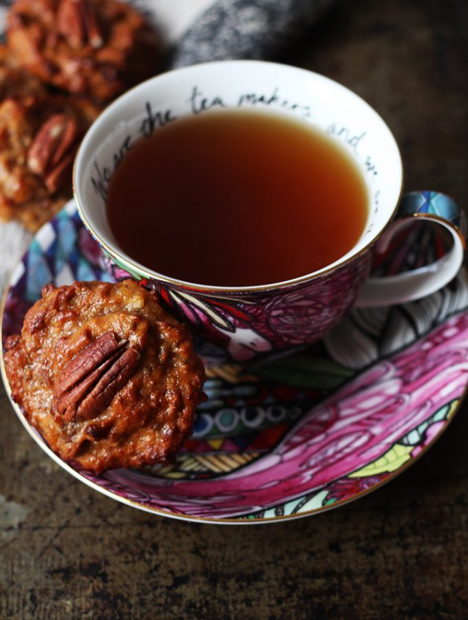 Banana, Date and Pecan Protein Biscuits