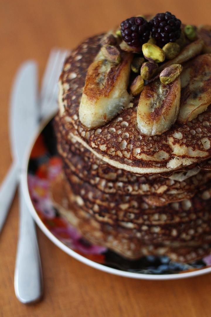 Fluffy Protein Pancakes (Gluten Free)