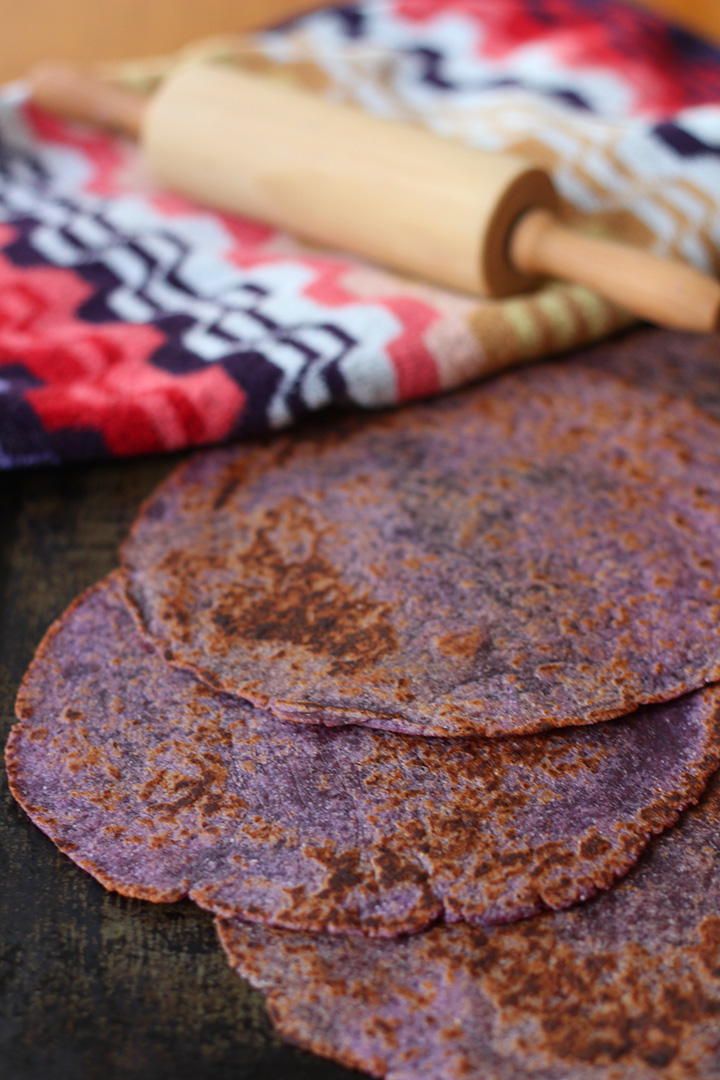 Purple Flatbread
