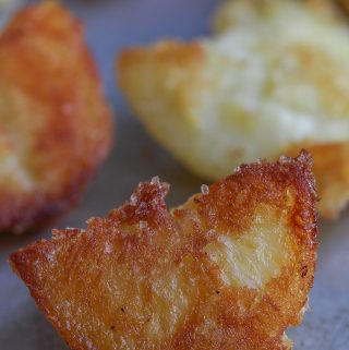 "Crispy ""fried"" potatoes"