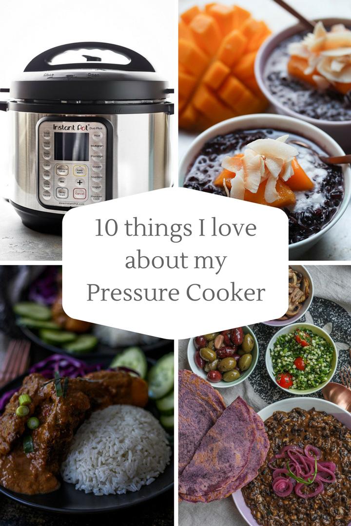 Pressure cooker collage