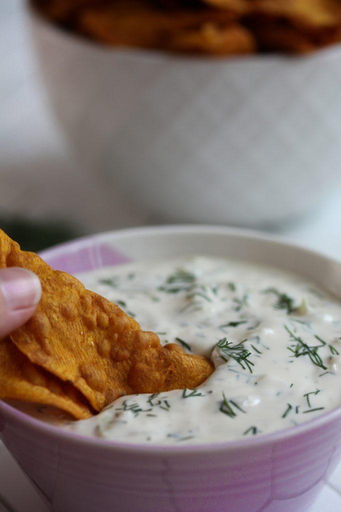 Creamy Dairy Free Tzatziki
