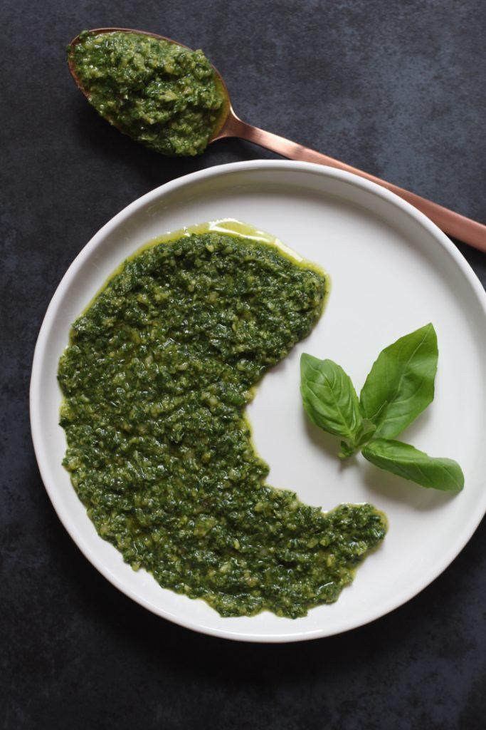 Macadamia Basil Pesto