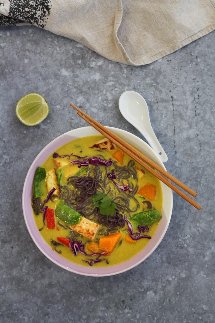 Lemongrass, Ginger and Shiitake Noodles