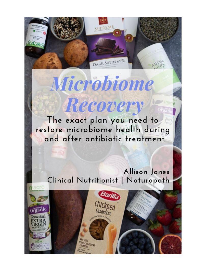 Microbiome Recovery protocol cover