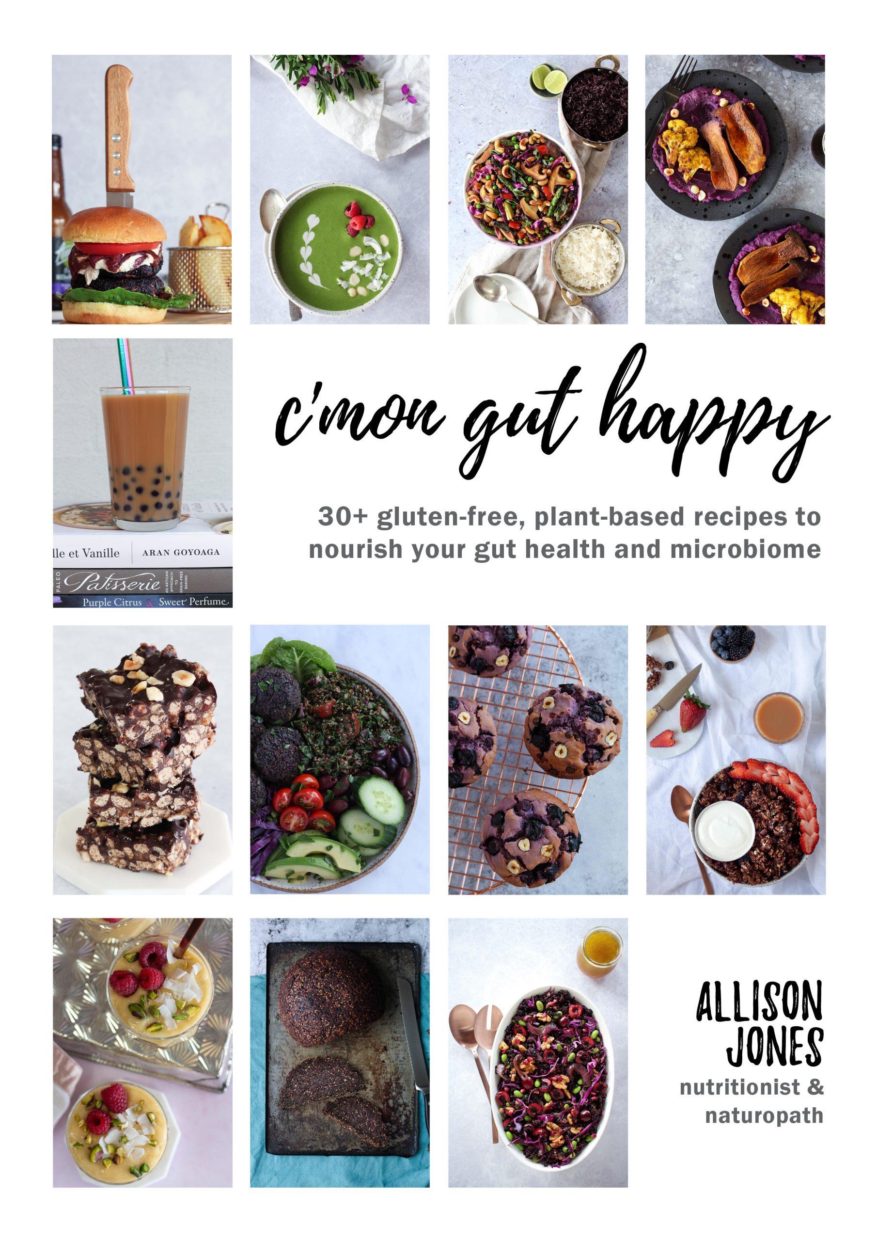 C'mon Gut Happy book cover