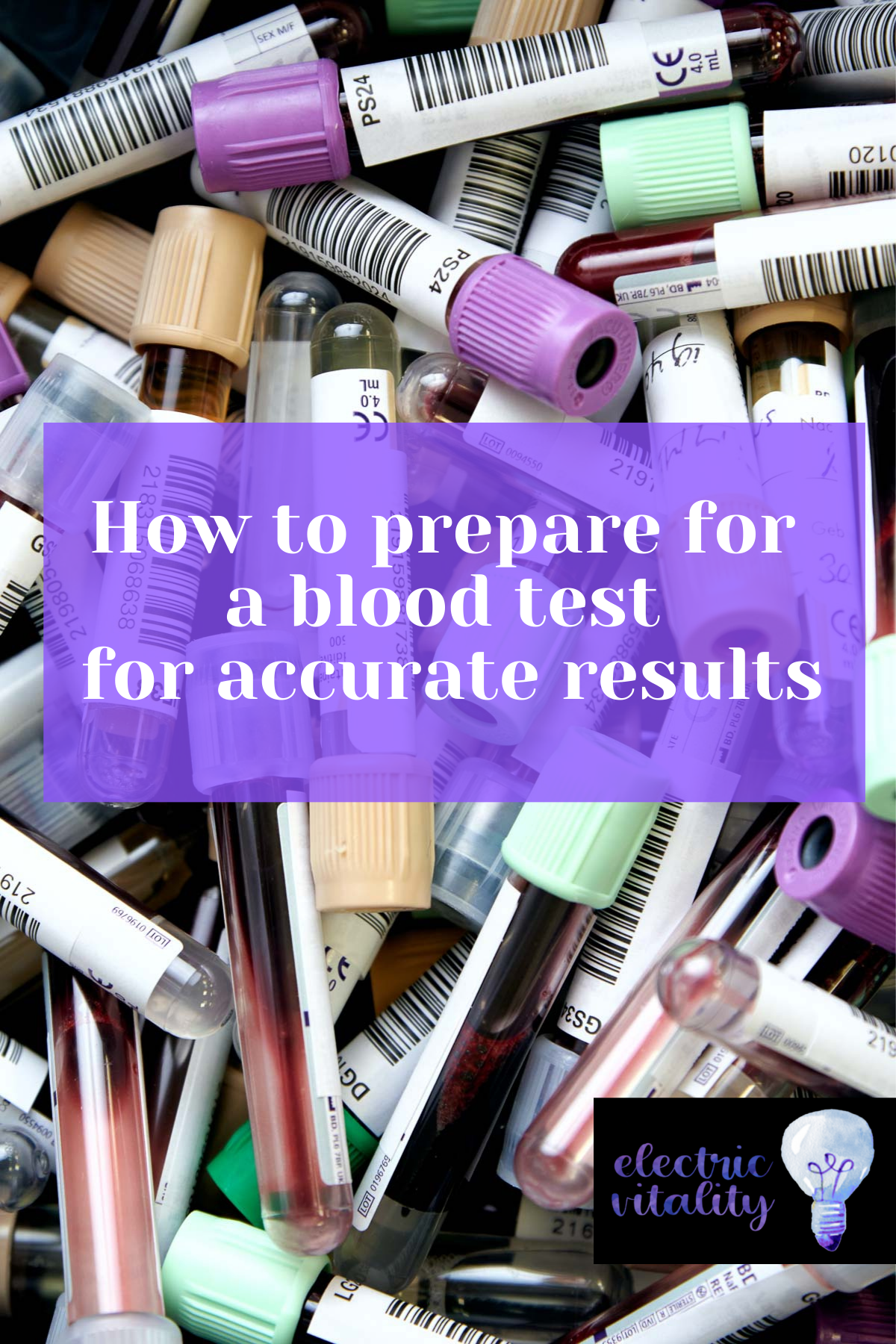 Image text: how to prepare for a blood test for accurate results